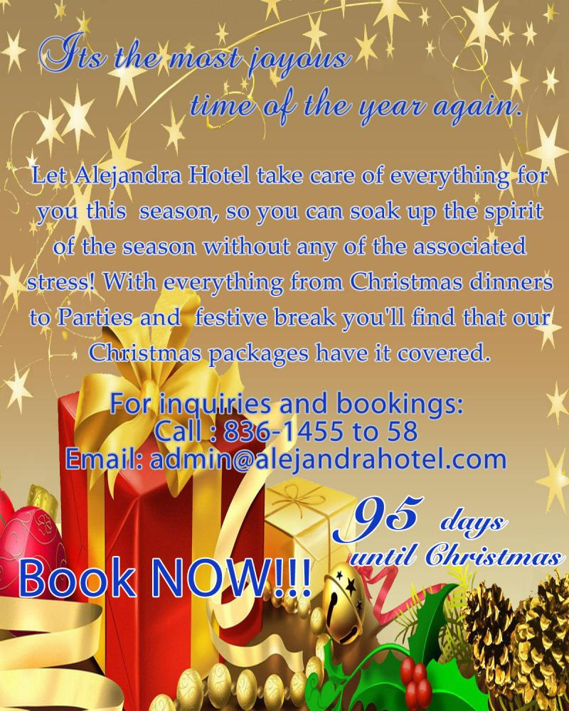 Christmas Party Flyer Sample http://alejandrahotel.com/whats_new